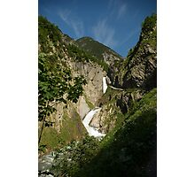 From high in the mountains Photographic Print