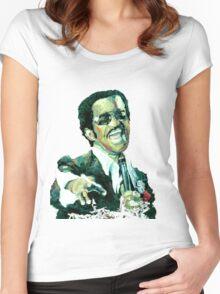 Sammy Davis Jr  Women's Fitted Scoop T-Shirt