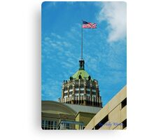 Flying Proud on the 4th Canvas Print