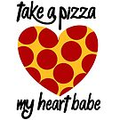 PIZZA MY HEART by mik3hunt