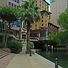 San Antonio River by Holly Werner