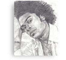 Maxwell B&W Canvas Print