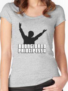 Buongiorno Principessa Women's Fitted Scoop T-Shirt