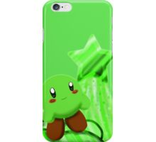 Green Kirby iPhone Case/Skin