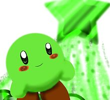 Green Kirby by Redjiggs