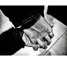 Hold My Hand Photographic Print
