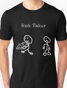 Risk Taker (Original stick figure version) Unisex T-Shirt