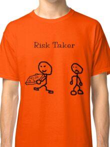 Risk Taker (Original stick figure version) Classic T-Shirt