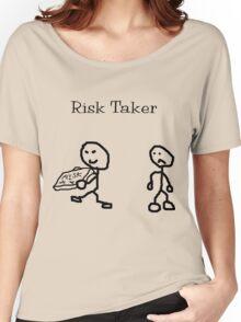 Risk Taker (Original stick figure version) Women's Relaxed Fit T-Shirt