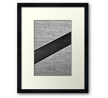 Chevron Framed Print