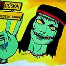 Lollipop Chainsaw: Mariska, The Psychedelic Zombie by kittenofdeath