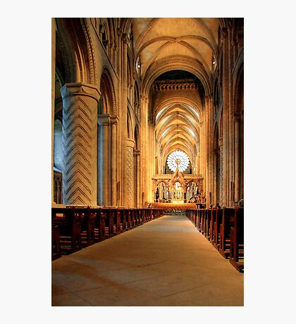 The Nave of Durham Cathedral Photographic Print