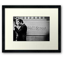 Money Never Sleep ! Framed Print
