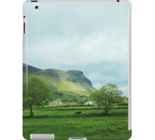 Green Cliffs iPad Case/Skin