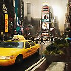 Yellow Cab by Yanieck