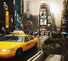 Yellow Cab by Yanieck