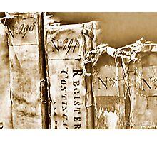 Faded Books - Antiek  Photographic Print