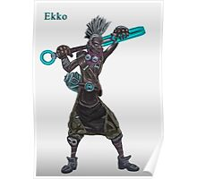 The time machine Ekko V2 jpeg version Poster