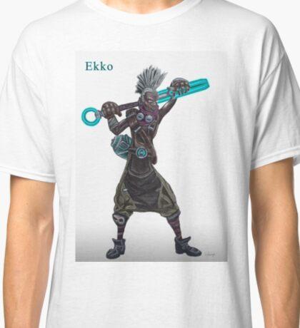 The time machine Ekko V2 jpeg version Classic T-Shirt