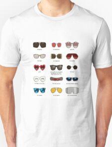 famous movie glasses Unisex T-Shirt