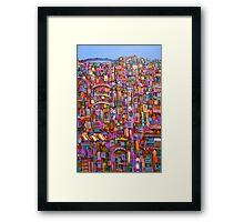 Urban Vibe Framed Print