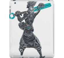 The time machine Ekko V1 jpeg version iPad Case/Skin