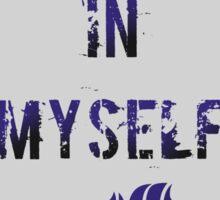 Believe (Gray) Sticker