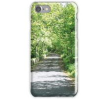 Green Pathway iPhone Case/Skin