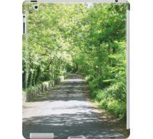 Green Pathway iPad Case/Skin