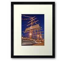 """Sagres"" Tall Ship. Framed Print"