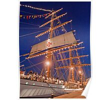 """Sagres"" Tall Ship. Poster"
