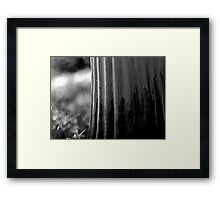 left to its own devices, the garden simply got on with it. Framed Print