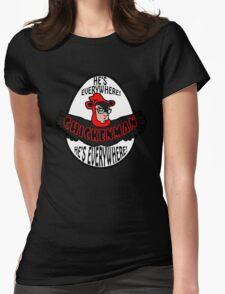 Chicken Man! Womens Fitted T-Shirt