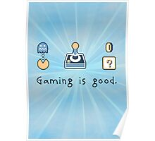 Gaming is good. REMIX Poster