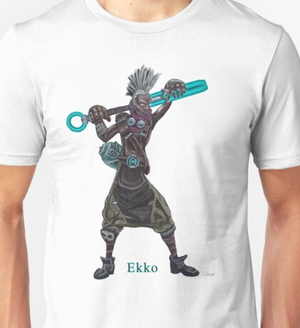 The time machine Ekko V2 png version Unisex T-Shirt