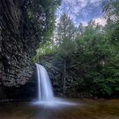 Upper Falls of Little Stony Creek by James Hoffman