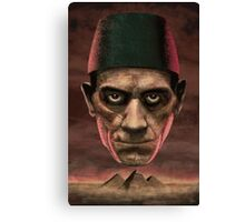 Boris The Mummy Canvas Print