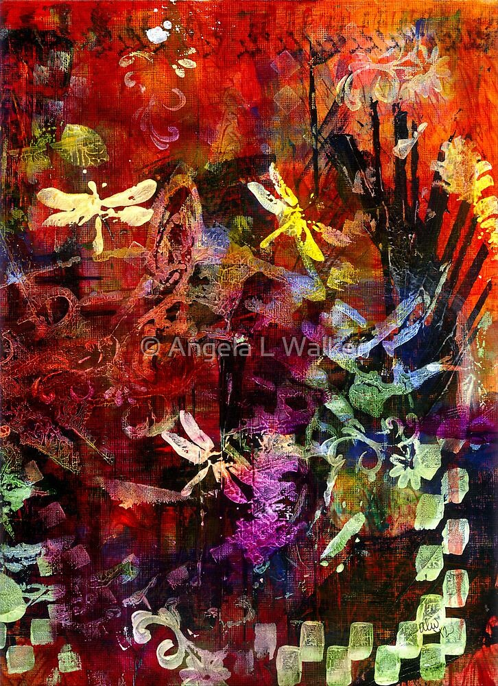 Day of the Dragonflies by © Angela L Walker