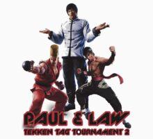 Paul & Law Tekken Tag 2 ver 2 by caocaoism