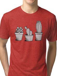 Cacti Trio Tri-blend T-Shirt