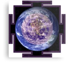 Peace On Earth Yantra Metal Print