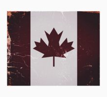 Vintage Canada Flag by Nhan Ngo