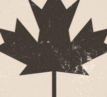 Old Canada Flag Sticker