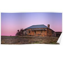 Before Dawn, Mount Bryan East Abandoned Homestead Poster