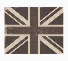 Old United Kingdom Flag Kids Tee