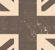 Old United Kingdom Flag Sticker