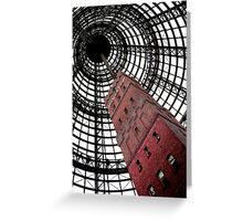 Towering Vortex Greeting Card
