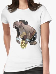 Wonder Womanatee Womens Fitted T-Shirt
