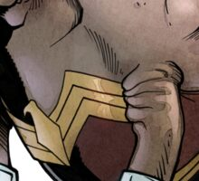 Wonder Womanatee Sticker