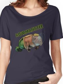 Aquamanatee Women's Relaxed Fit T-Shirt